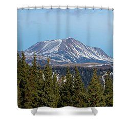 Alaska Range Shower Curtain