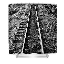 Alaska Tracks Shower Curtain