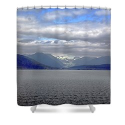 Alaskan Coast 2 Shower Curtain
