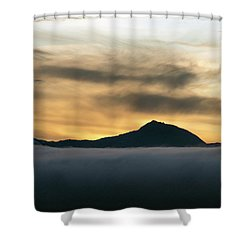 Alaskan Gold Shower Curtain