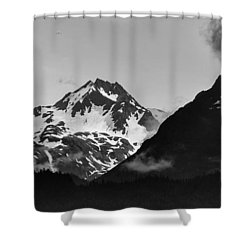 Alaskan Mountain Range Shower Curtain
