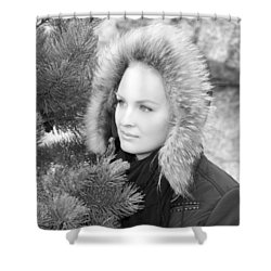 Alaskan Portrait Shower Curtain
