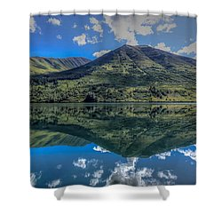 Alaskan Reflections Shower Curtain