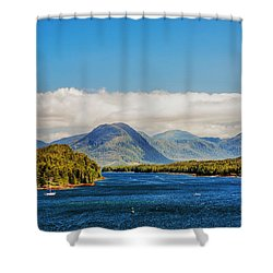 Alaskan Wilderness Shower Curtain