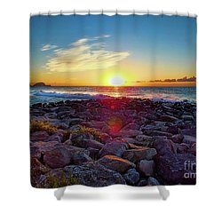 Alassio Sunset Shower Curtain