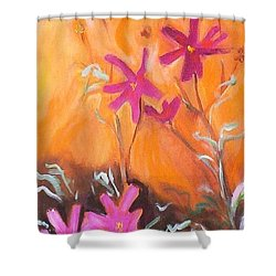 Alba Daisies Shower Curtain