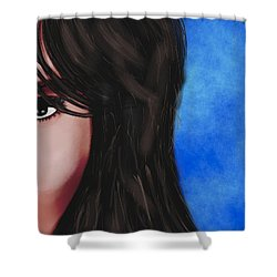 Alba  Shower Curtain by Mathieu Lalonde