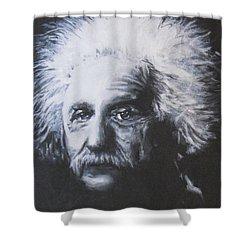 Albert Einstein Shower Curtain
