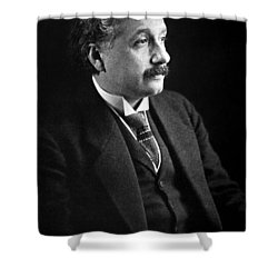 Albert Einstein Photo 1921 Shower Curtain