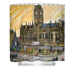 Albert Square Manchester 1900 Shower Curtain