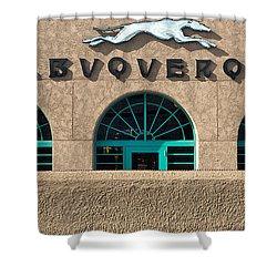 Albuquerque Hound Shower Curtain