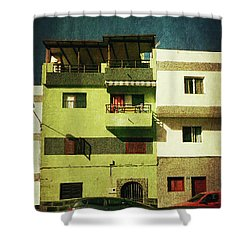 Shower Curtain featuring the photograph Alcala, Another Green House by Anne Kotan