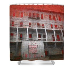 Alcatraz Federal Penitentiary Shower Curtain