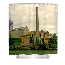 Alcatraz From The West Shower Curtain