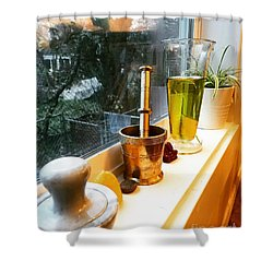 Alchemy And Oils Shower Curtain