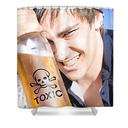 Shower Curtain featuring the photograph Yo Ho Ho And A Bottle Of Rum by Jorgo Photography - Wall Art Gallery