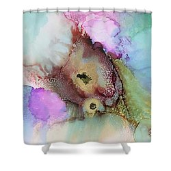 Alcoholic Flower Shower Curtain