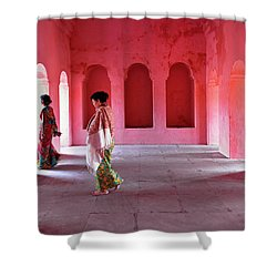 Alcoves Shower Curtain by Marji Lang