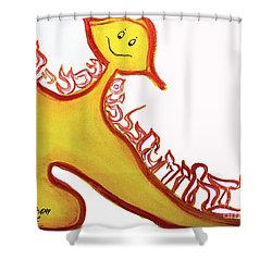 Aleph, At One Shower Curtain