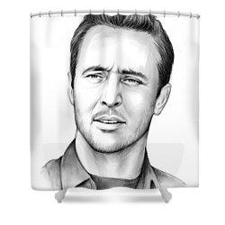 Alex O'loughlin Shower Curtain