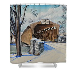 Alexander Bridge Shower Curtain