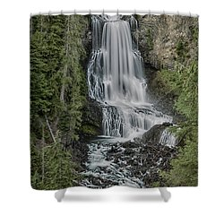 Shower Curtain featuring the photograph Alexander Falls by Stephen Stookey
