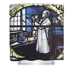 Alexander Fleming, Scottish Biologist Shower Curtain by Science Source