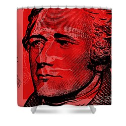 Alexander Hamilton - $10 Bill Shower Curtain