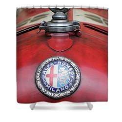 Alfa Romeo 8c 2600 Muletto Shower Curtain