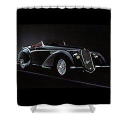 Alfa Romeo 8c 2900 Mercedes Benz Shower Curtain