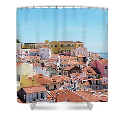 Alfama Shower Curtain