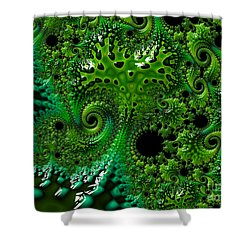Algae Shower Curtain