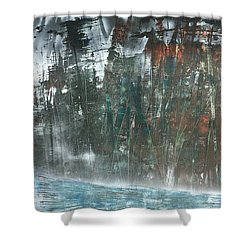 Algonquin Forest River Shower Curtain