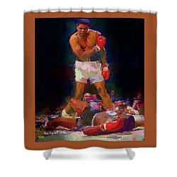 Ali Shower Curtain by Ted Azriel