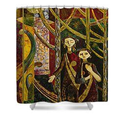 Alice In Wonderland  Shower Curtain by Ousama Lazkani