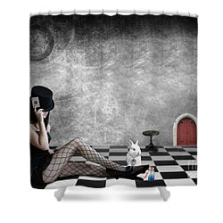 Alice Is Kinky Shower Curtain