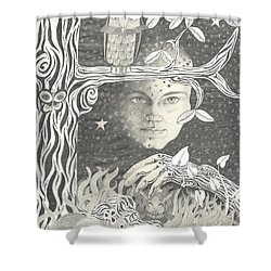 Alice Syndrome Shower Curtain