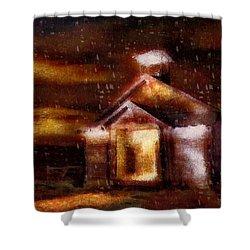 Alien Home Shower Curtain