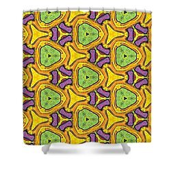 Alien Invasion Shower Curtain