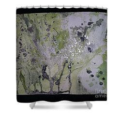 Aliens, Wild Horses, Sharks And Skeletons  Shower Curtain by Talisa Hartley