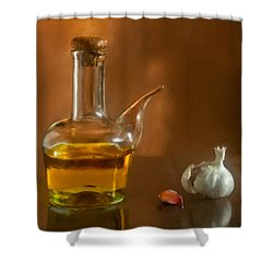 Alioli Shower Curtain