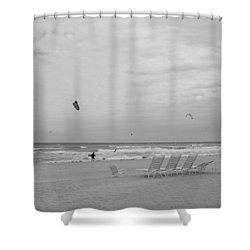 All Alone Shower Curtain by Rob Hans