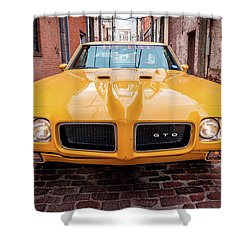 All American Muscle Shower Curtain