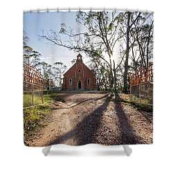 Shower Curtain featuring the photograph All Are Welcome by Linda Lees