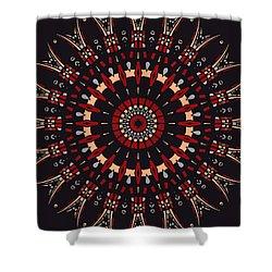 All Arrows Hit The Bullseye Shower Curtain by Joy McKenzie