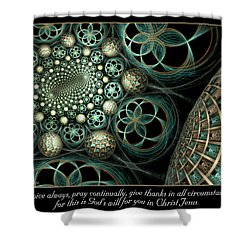 All Circumstances Shower Curtain