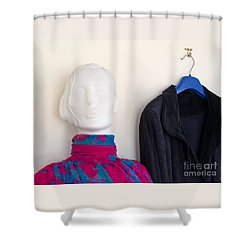 All Dolled Up Shower Curtain by Ann Horn