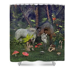 All Dreams Are Possible Shower Curtain