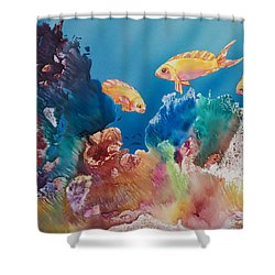All Dressed Up Shower Curtain by Tanya L Haynes - Printscapes