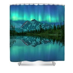 Shower Curtain featuring the photograph All In My Mind by Jon Glaser